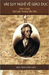 Book Cover: Vài Suy Nghĩ Về Giáo Dục